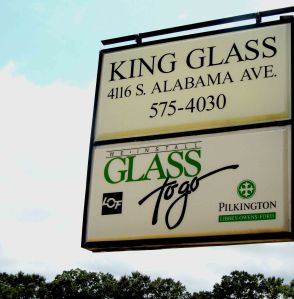 KingGlassSign